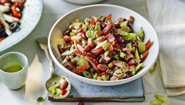 BBC Food - Recipes - Mixed bean salad