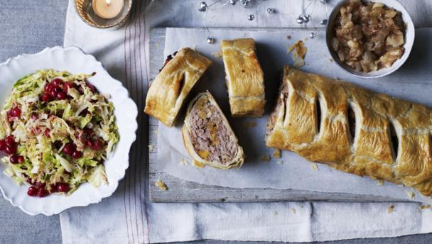 Posh sausage rolls