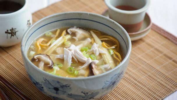 Quick hot and sour noodle soup