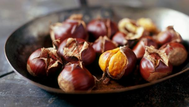 Roast chestnuts