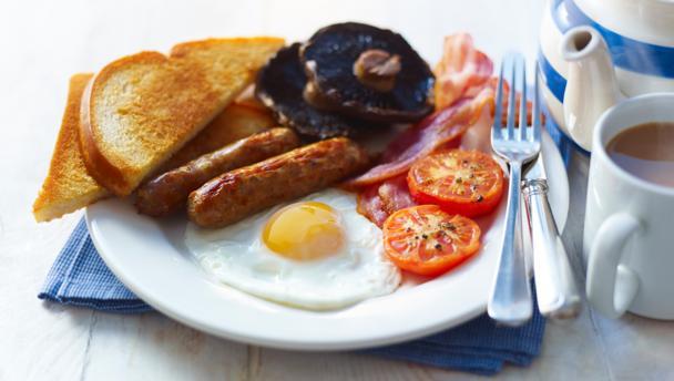 BBC Food - Recipes - Stress-free full English breakfast