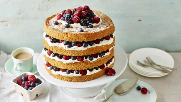 Summer party gâteau
