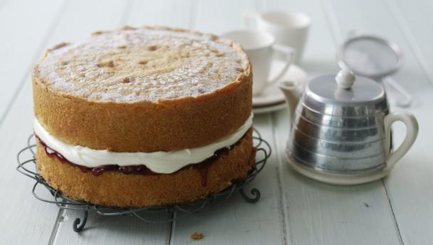 Red Velvet Cake Recipe Uk Mary Berry: Cake Recipe: Victoria Sponge Cake Recipe Quick Easy