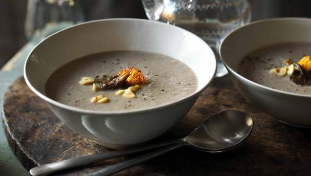 Bbc Food Mushroom Soup