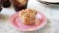 Apple and rhubarb muffins