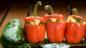 Paneer-stuffed peppers