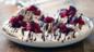 Raspberry cinnamon meringue