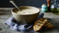 Roast parsnip and rosemary soup