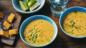 Make-and-freeze butternut squash and lime soup