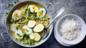 Whole eggs in coconut masala (egg molee)