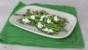 Asparagus, pea, feta and mint salad