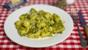 Kids' baked potato gnocchi with pesto