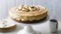 Banoffee cheesecake with chocolate sauce