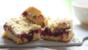 Berry crumble traybake