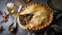 Chestnut and mushroom pie