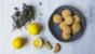 Chewy lemon and thyme cookies