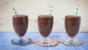 Chocolate avocado shake