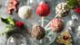 Christmas cake pops