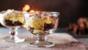 Christmas pudding trifle