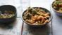 Coconut prawn curry with cauliflower 'rice'