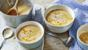 Creamy parsnip and apple soup