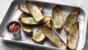 Crispy potato skins