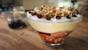 Dad's banana custard trifle