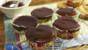 Dextrose cupcakes with chocolate glaze
