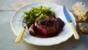 Fillet steak with morel mushroom and wine sauce