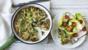 Garlic mushroom frittata
