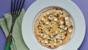 Honey, feta and thyme pancakes