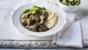 Horseradish and mustard beef casserole