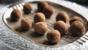 Jamaican rum truffles