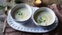 Jerusalem artichoke soup with white truffle oil