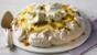 Lemon and lime pavlova