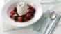 Meringues with Chantilly cream and berries
