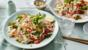 Vietnamese-style crayfish and noodle salad