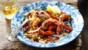 Piri-piri prawns and harissa couscous