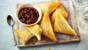 Easy potato and pea samosas