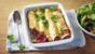 Quick beany enchiladas