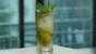 Skinny golden mojito