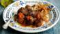 Spicy lamb albondigas (meatballs)