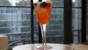 'Spritz coppa' cocktail