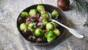 Sprouts with chestnuts and pancetta