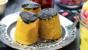 Steamed liquorice sponges