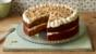 Reduced-sugar carrot cake