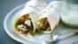 Tandoori lamb wrap