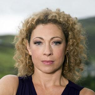 Alex Kingston english actress