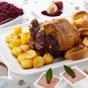 Ultimate roast beef Christmas dinner