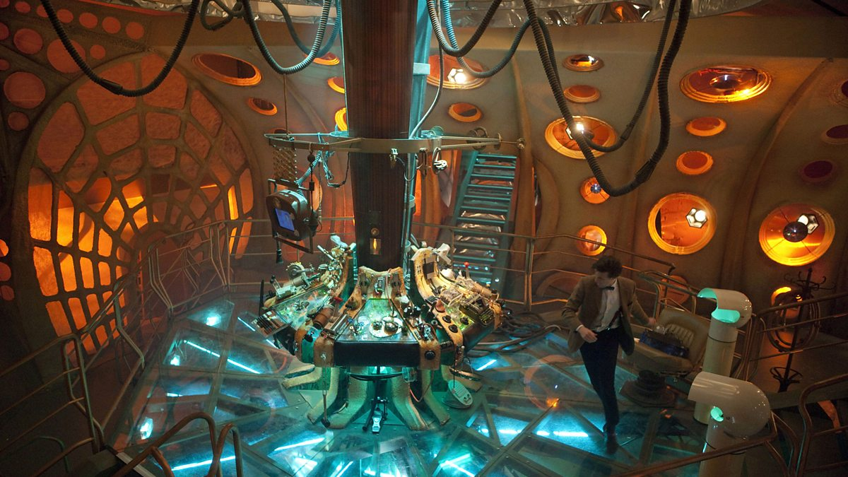 Bbc one doctor who the tardis through the years